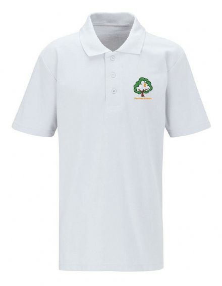 Peartree Primary White Polo